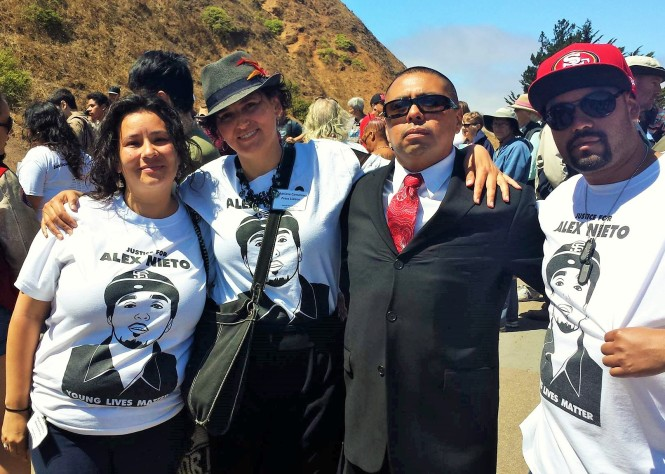 Justice & Love for Alex Nieto Committee STOKED by your solidarity and interest in justice for Alex and his Family.