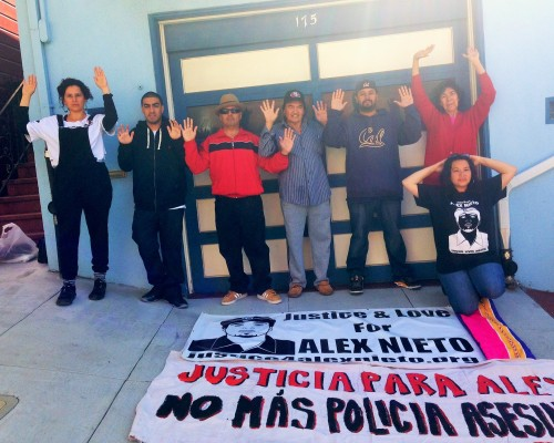 The Nieto Family and The Justice & Love for Alex Nieto Committee stand in solidarity with the Family of Mike Brown and the people of Ferguson.