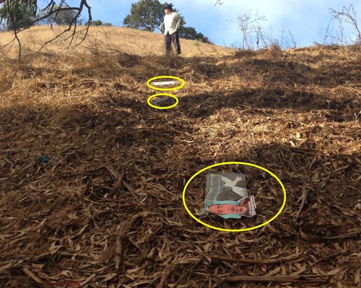 Alex Nieto Memorial vandalized again Aug. 31st, 2014.