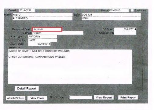 Summary Autopsy Report Med Ex_001 RED