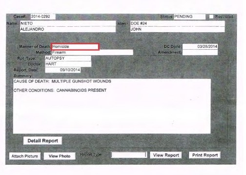 Summary Autopsy Report Med Ex_001 RED