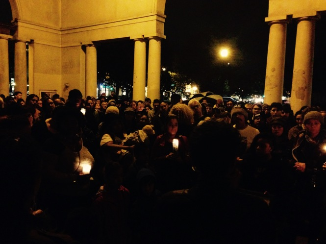 Ferguson Response: Vigil For Fallen Angels, Oakland, 2014.11.30