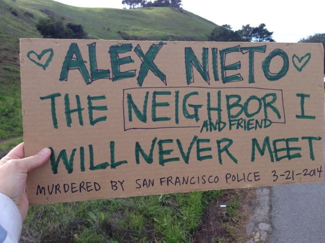 Lisa Ganser, new neighbor, has a message about how to be a good new neighbor in the highly gentrified neighborhoods of Bernal and the Mission.