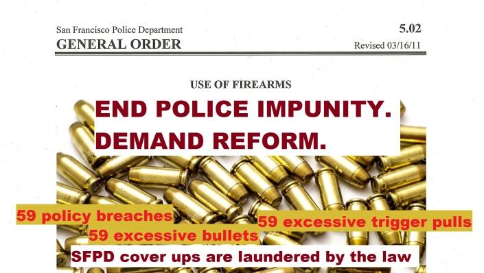 sfpd grl order end impunity